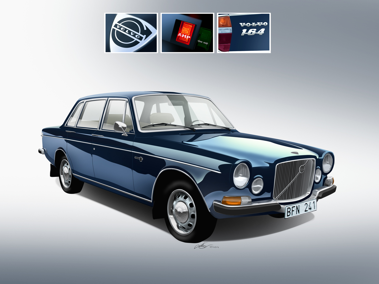 Volvo 164 Photos Informations Articles 1998 S70 Ac Wiring Diagram 11
