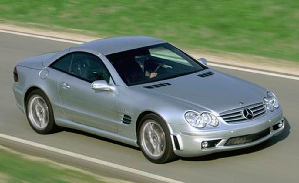 2005 Mercedes-Benz SL #11