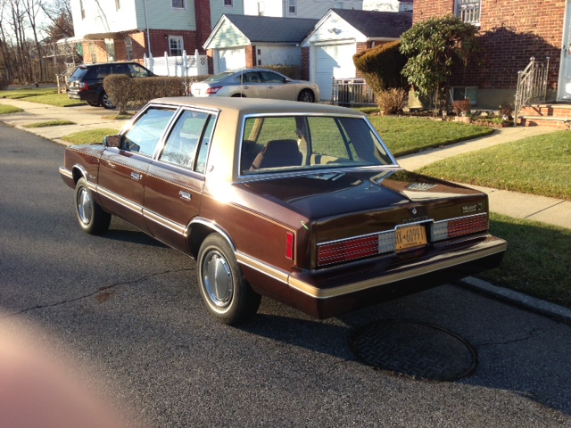 1981 Plymouth Reliant #4