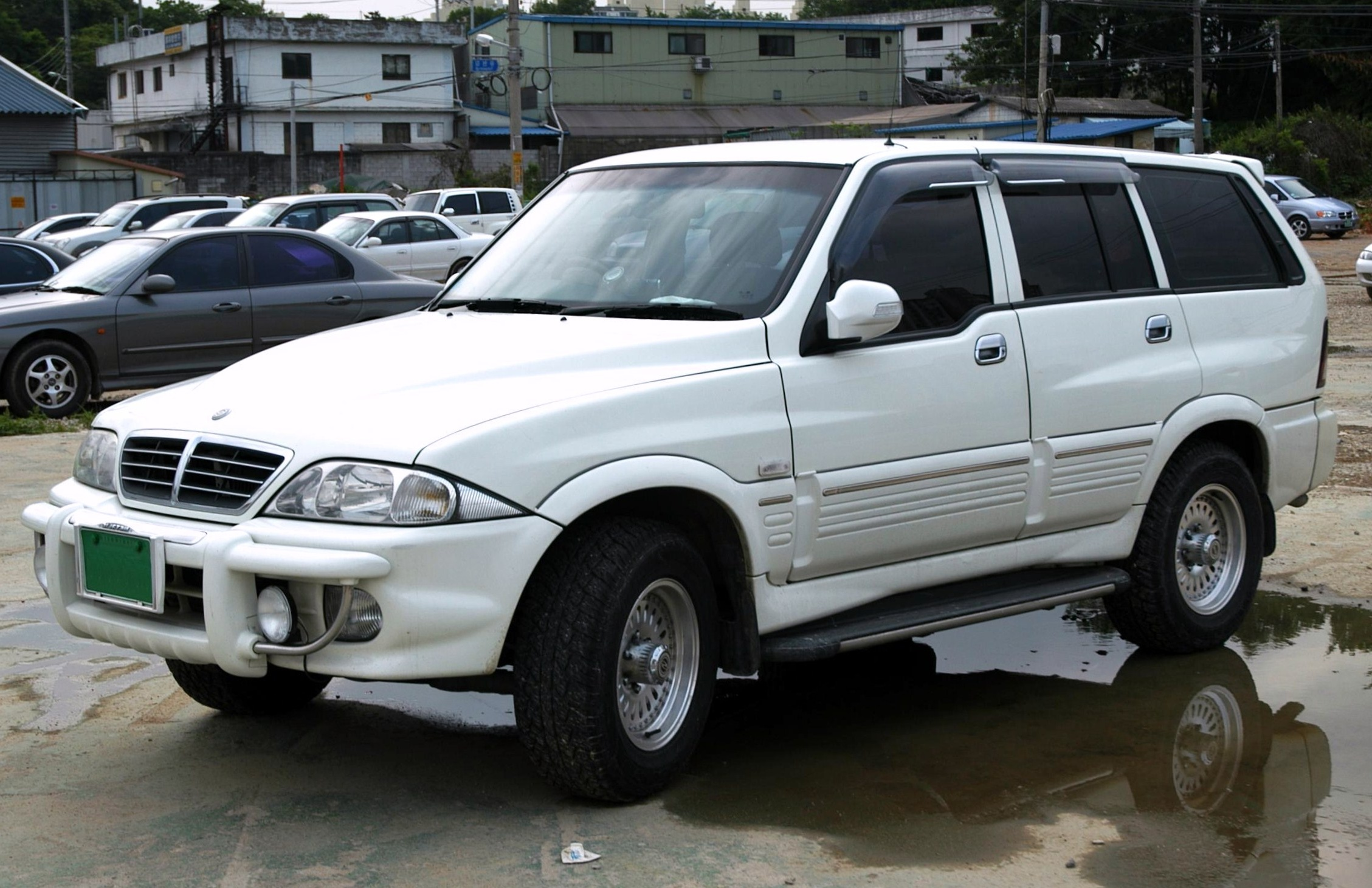 2001 Ssangyong Musso #15