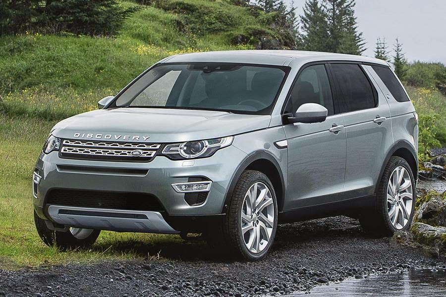 2015 Land Rover Discovery Sport #12