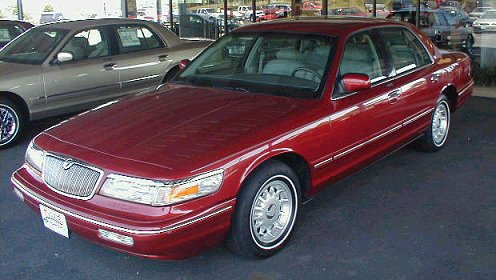1996 Mercury Grand Marquis #15