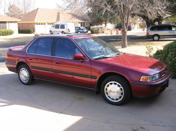 1993 Honda Accord #9