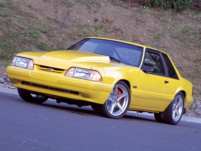 1991 Ford Mustang #10