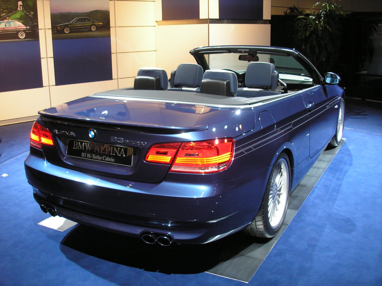 2007 alpina b3 photos informations articles. Black Bedroom Furniture Sets. Home Design Ideas