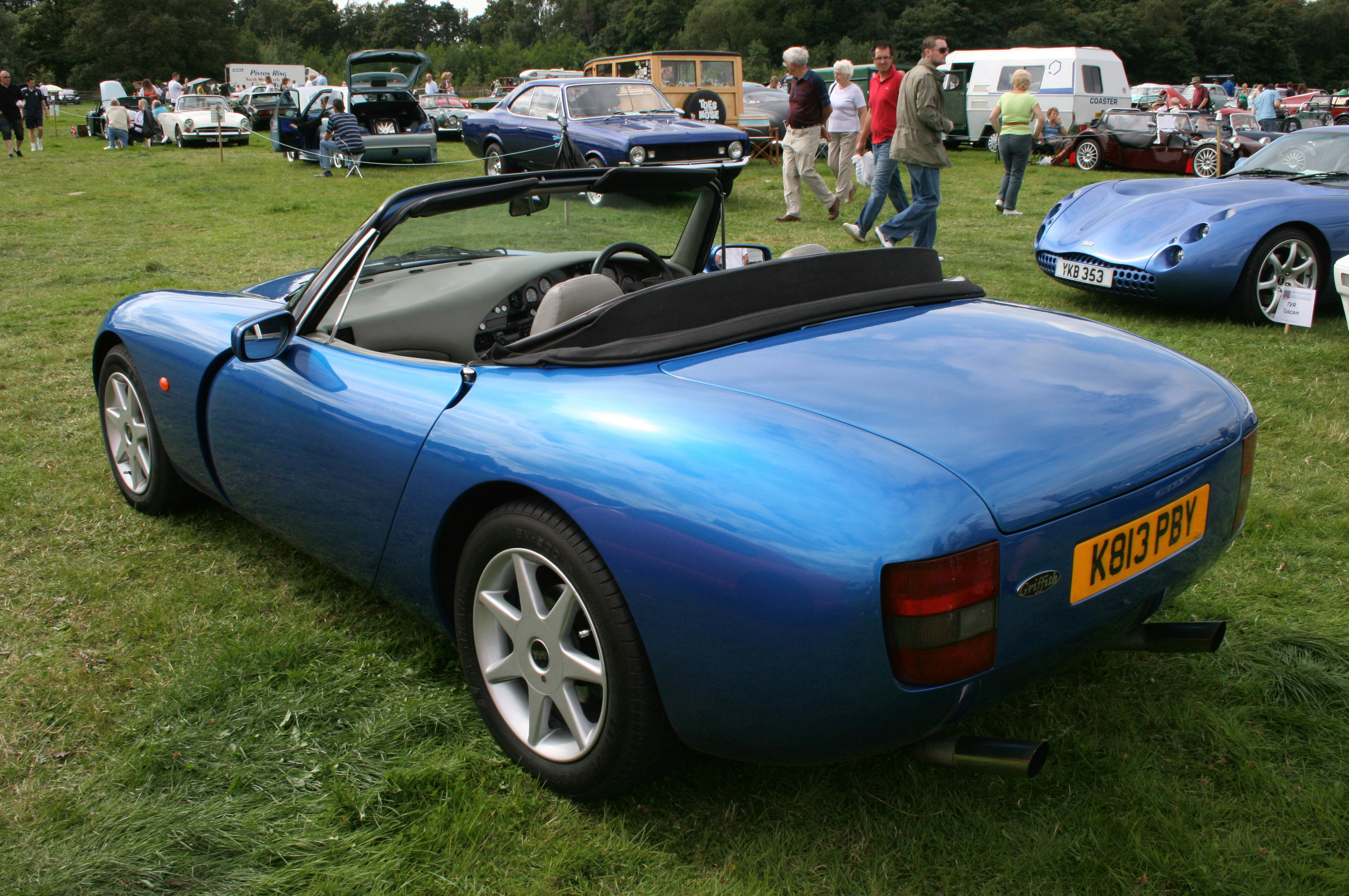 1991 TVR Griffith #8