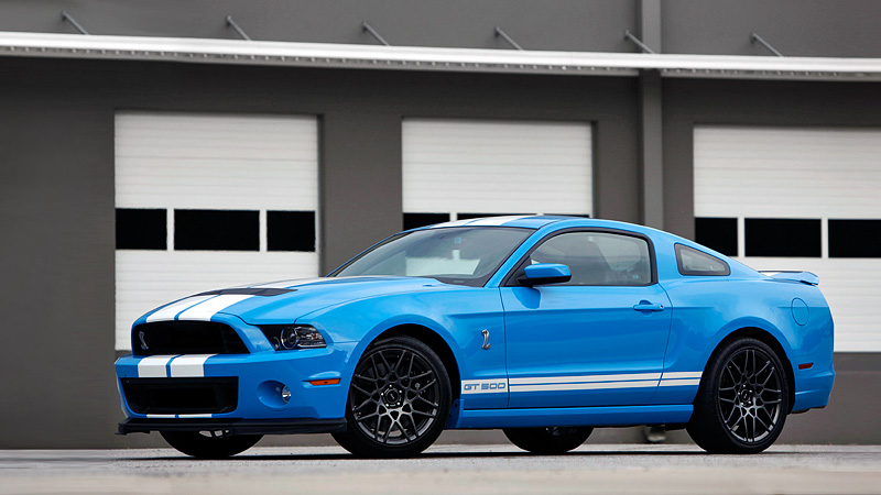 2012 Ford Shelby Gt500 #13