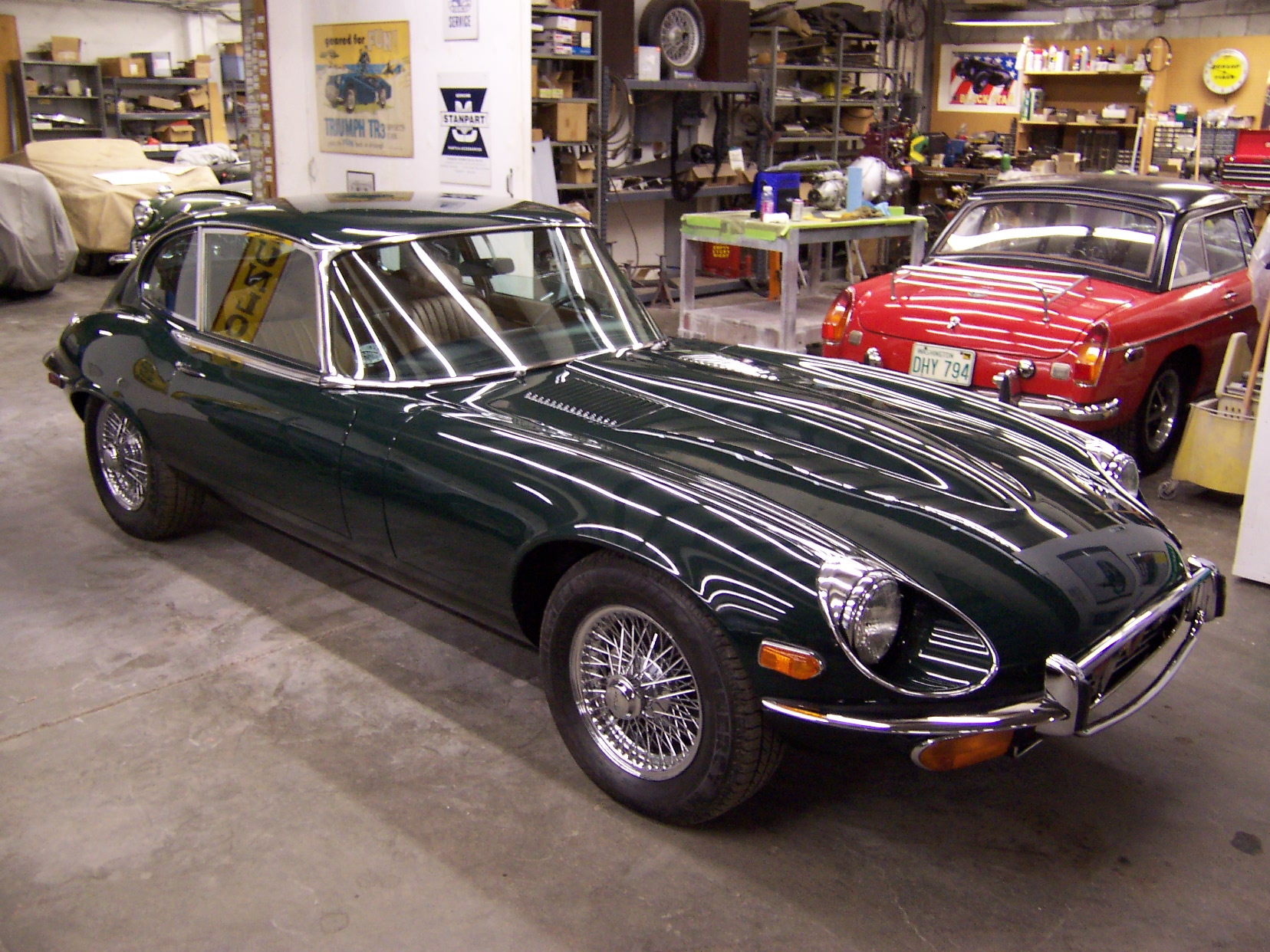 1972 Jaguar E-Type #3