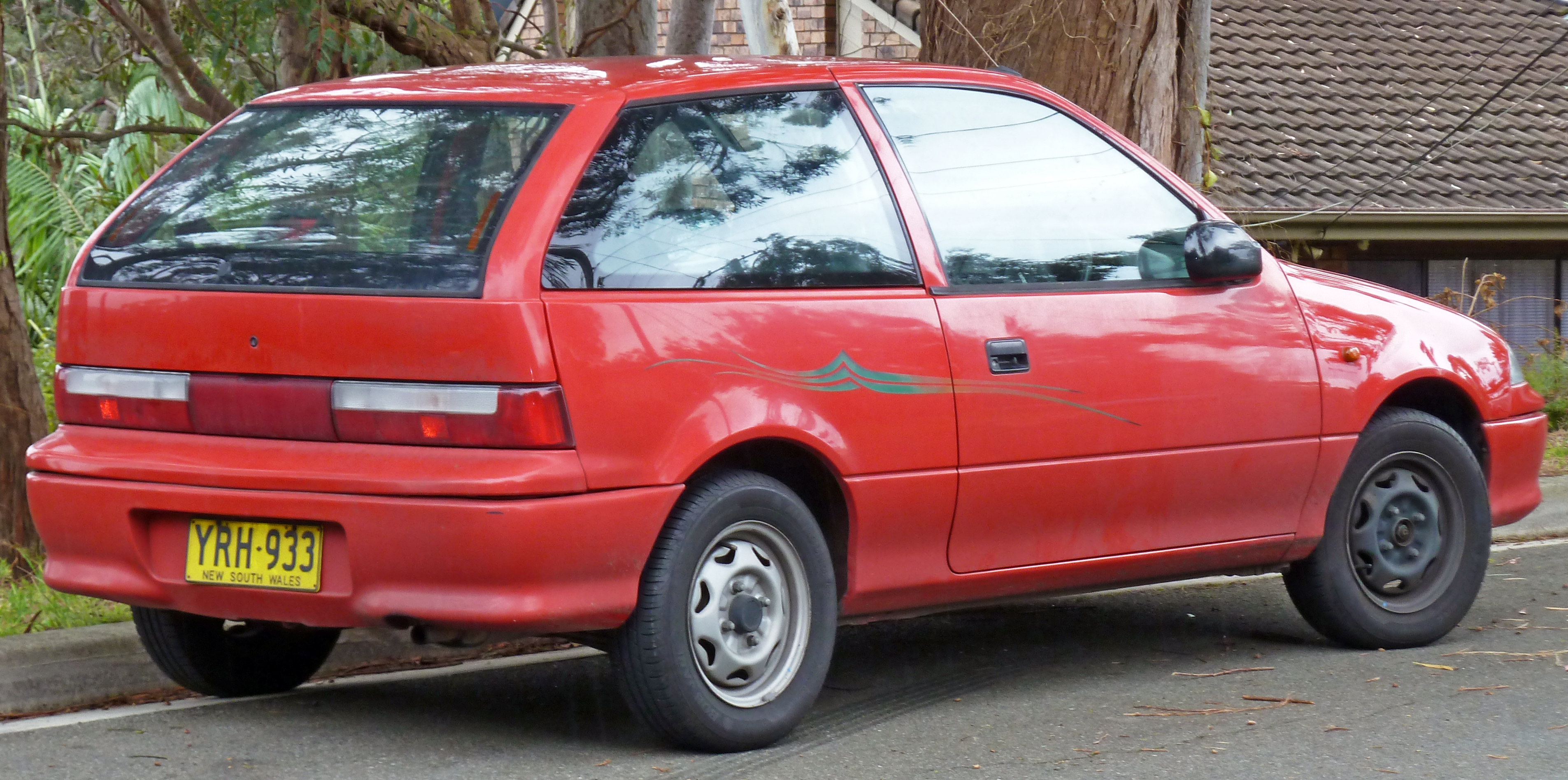 1998 Suzuki Swift #4