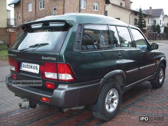 2002 Ssangyong Musso #9