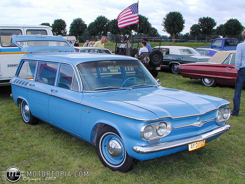 1961 Chevrolet Corvair #9