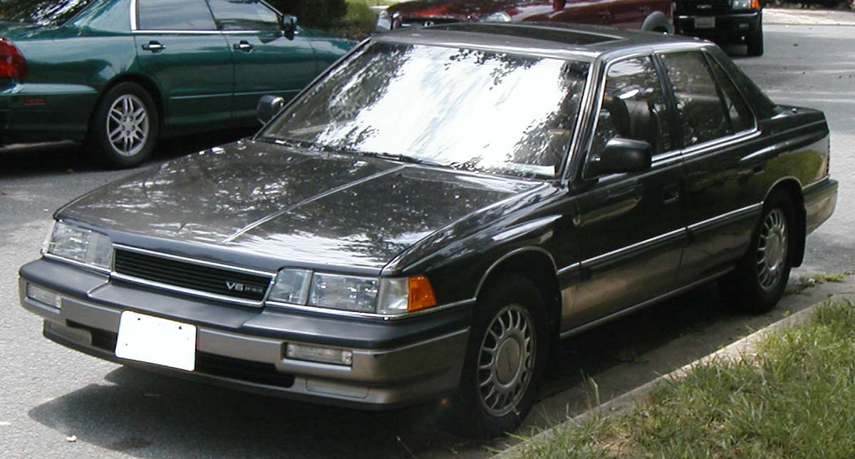 1986 Honda Legend #7