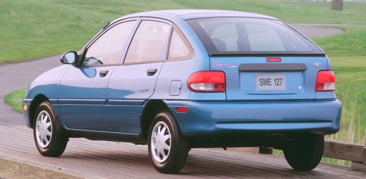 1997 Ford Aspire #7