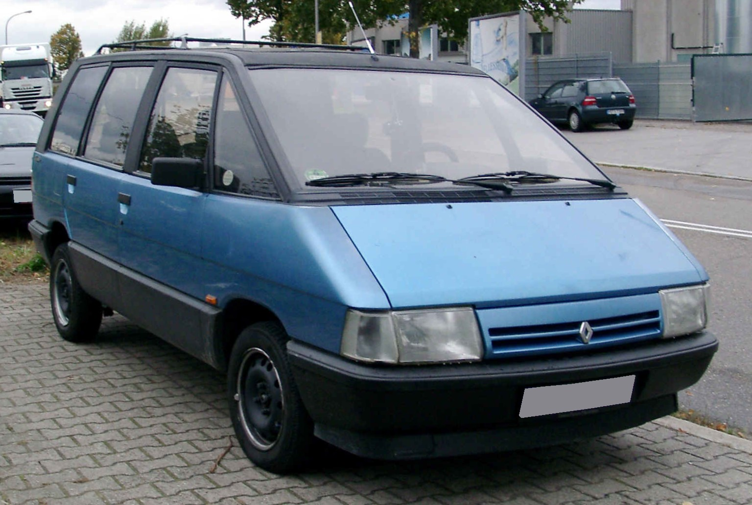 1984 renault espace photos informations articles. Black Bedroom Furniture Sets. Home Design Ideas