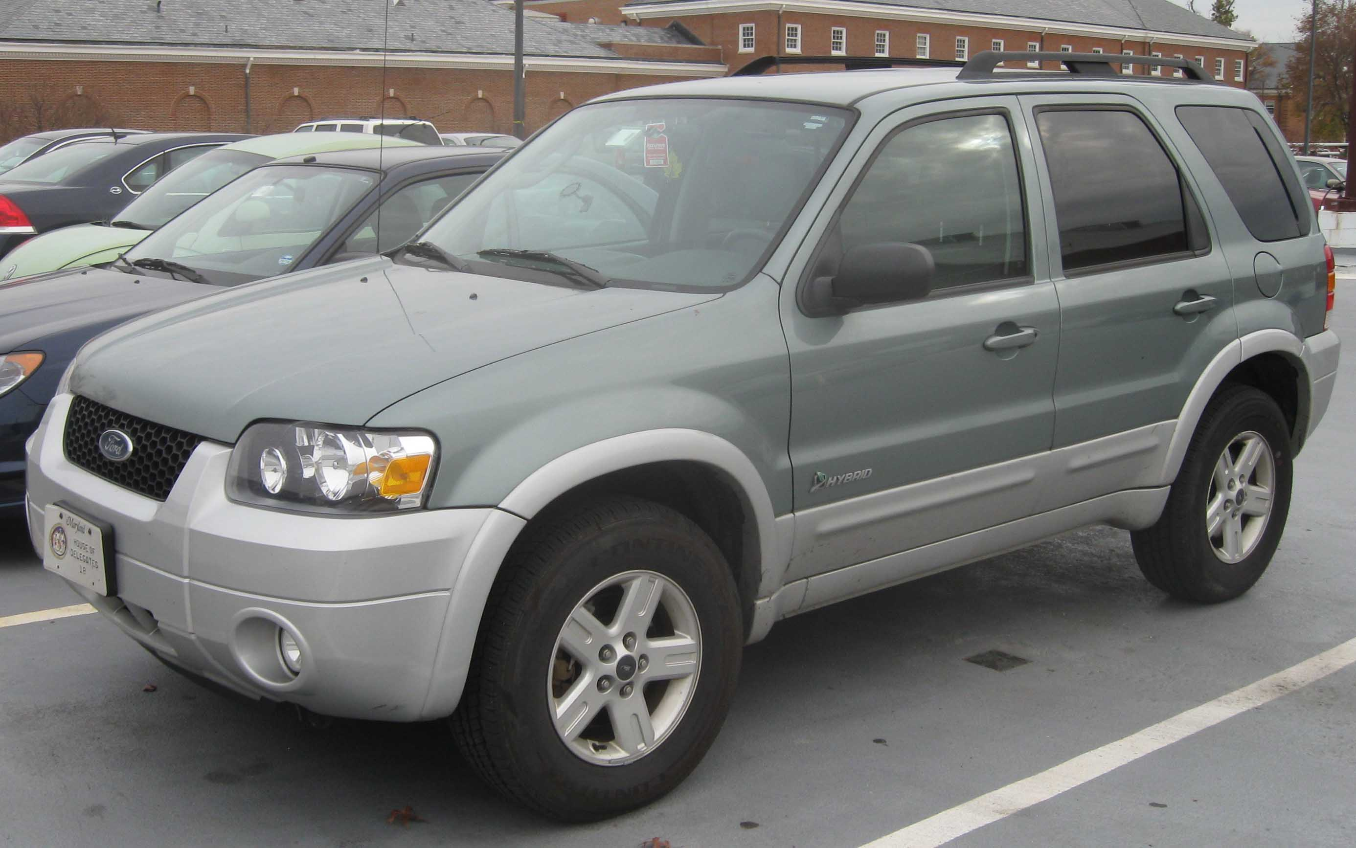 2007 Ford Escape Hybrid #3