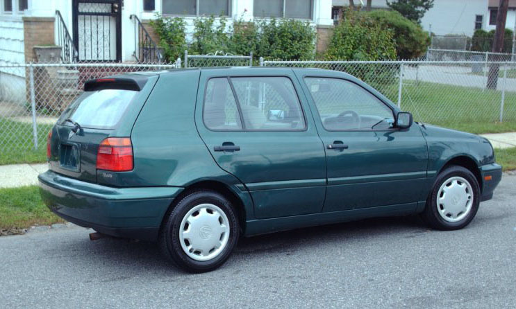 1996 Volkswagen Golf #11