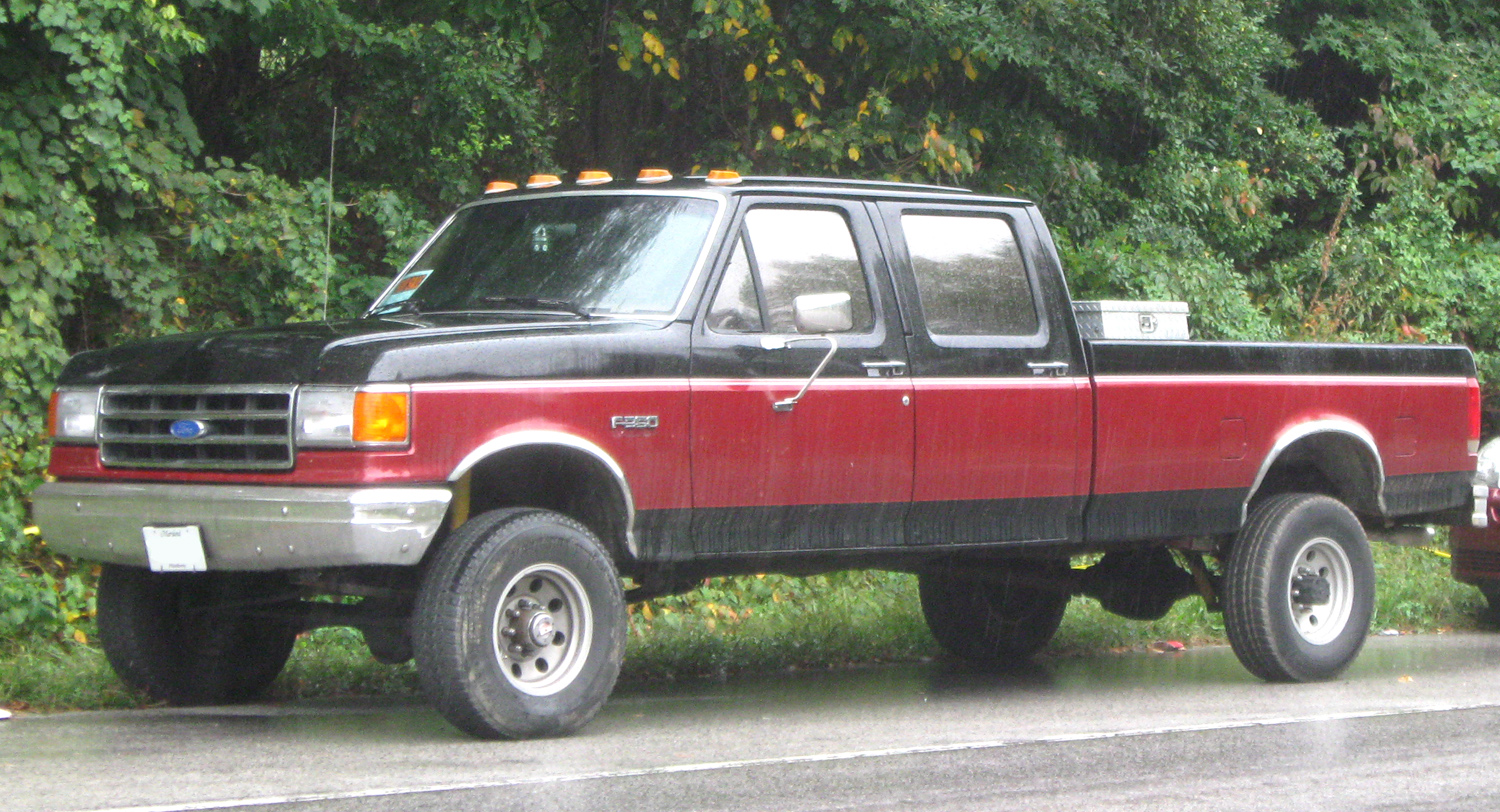 1991 Ford F-350 #7