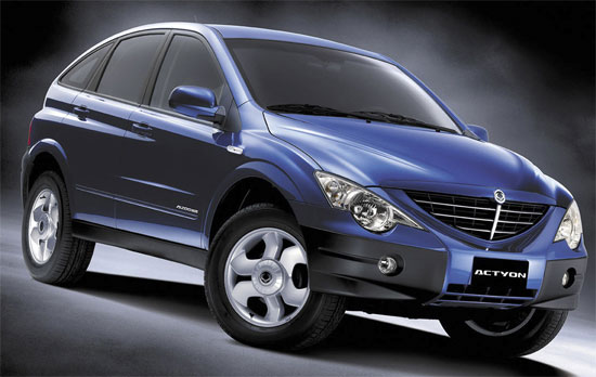 2005 Ssangyong Actyon #16