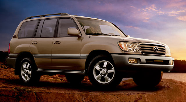 2006 Toyota Land Cruiser #9