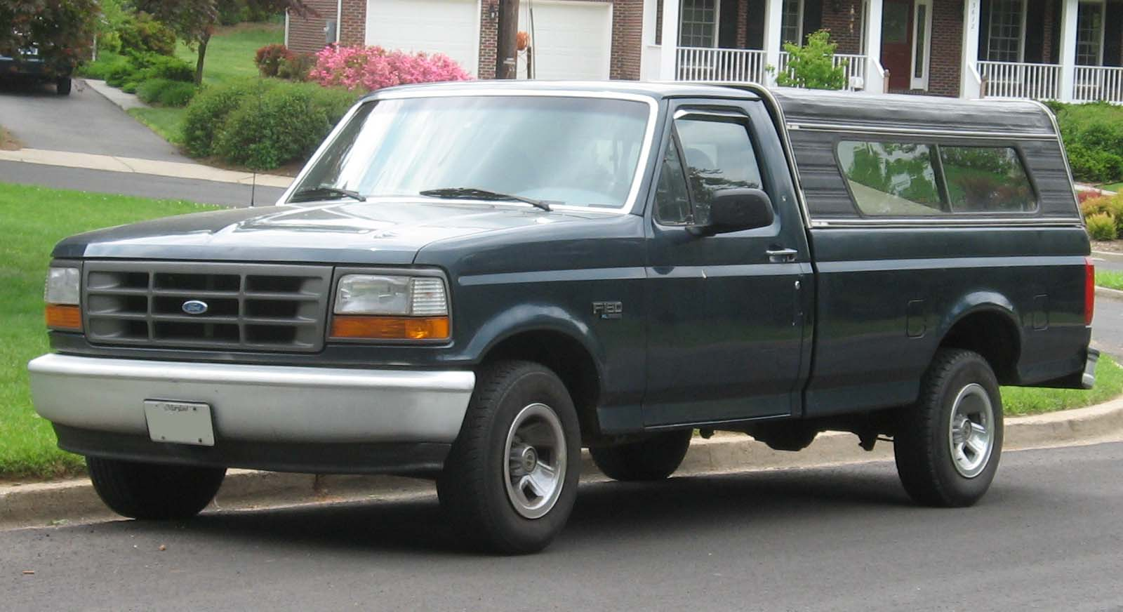1992 Ford F-150 #1