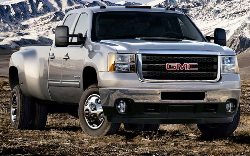 2011 GMC Sierra 3500hd #8