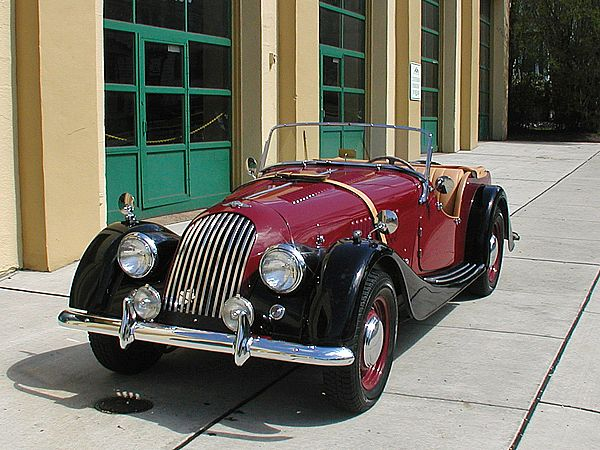 1957 Morgan Plus 4 #14