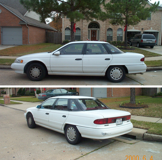 1992 Mercury Sable #6