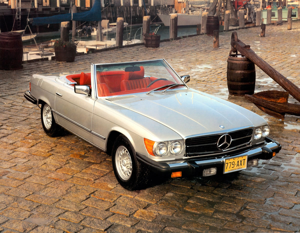 1971 Mercedes Benz SL #1