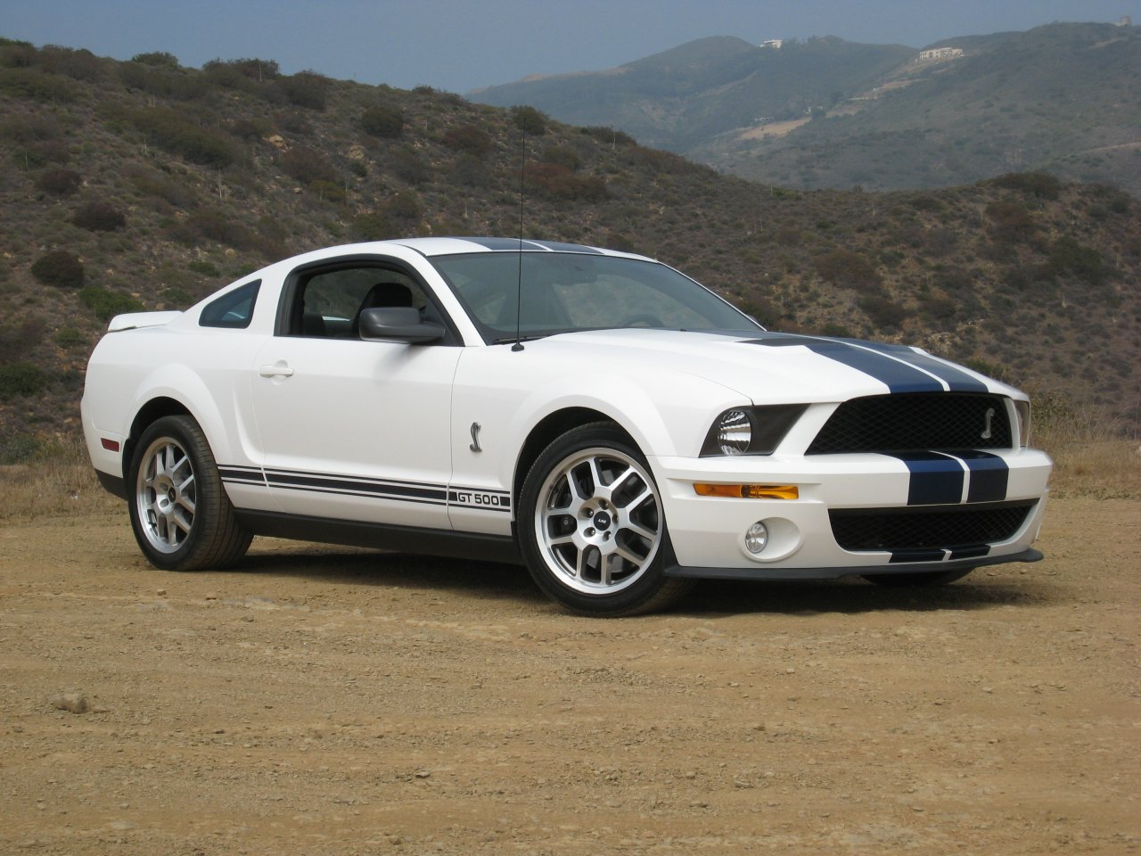 2007 Ford Shelby Gt500 #9