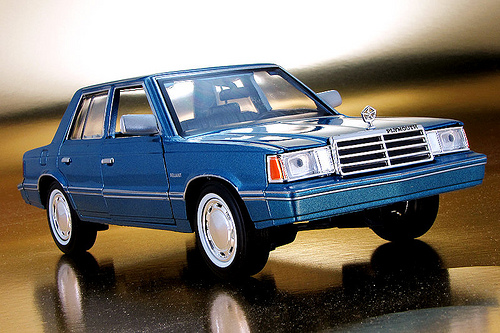 1983 Plymouth Reliant #7