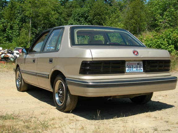 1990 Dodge Shadow #14