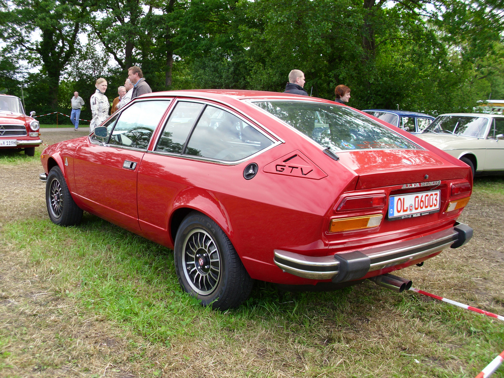 1979 Alfa Romeo GTV Photos, Informations, Articles