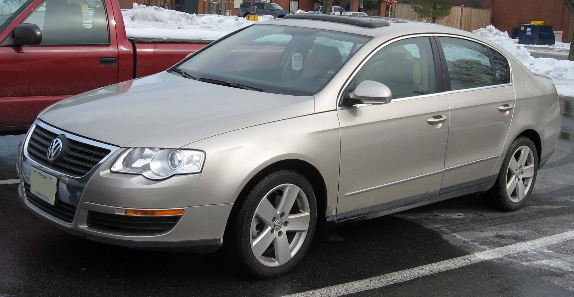 2006 volkswagen passat photos informations articles. Black Bedroom Furniture Sets. Home Design Ideas