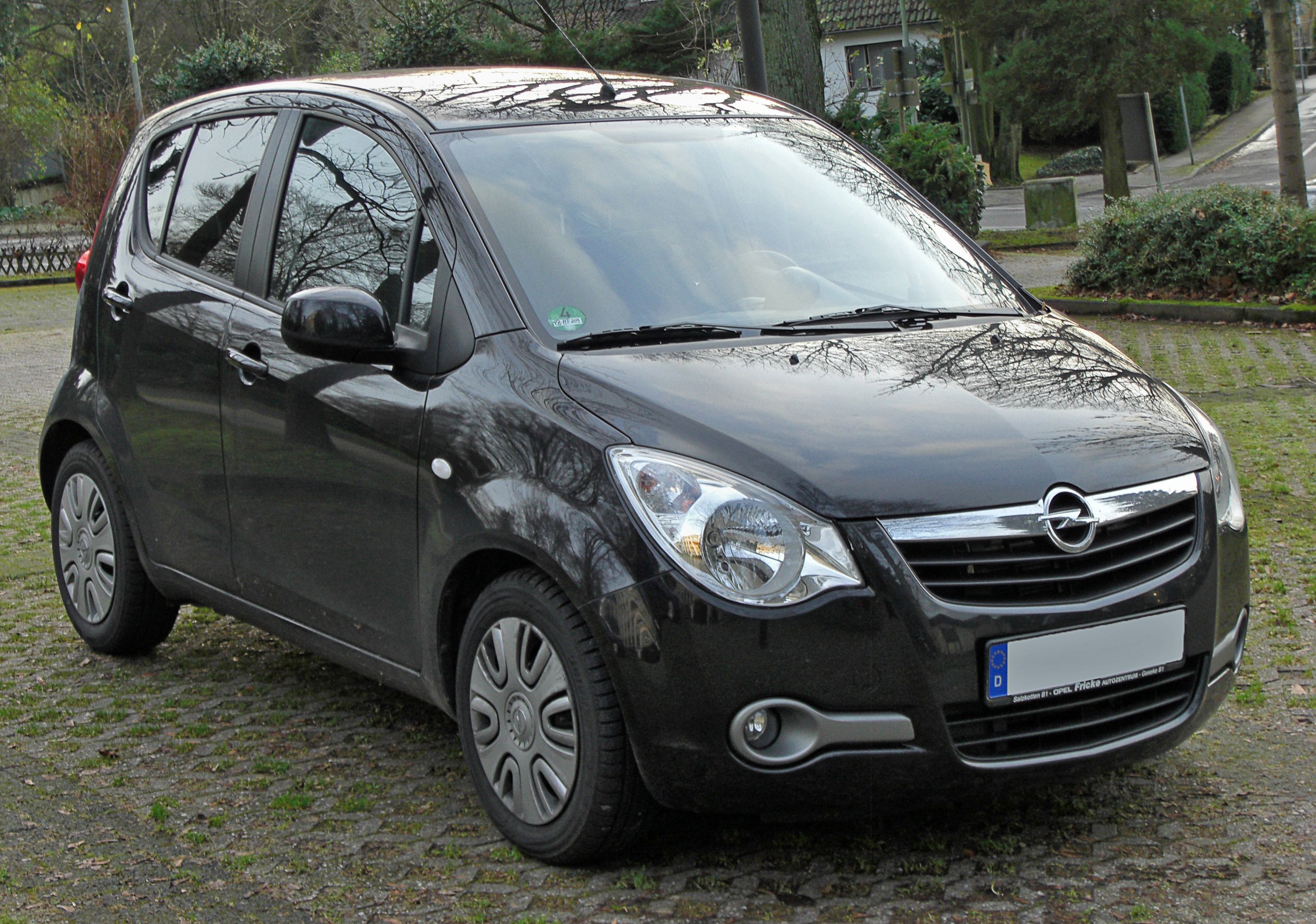 2009 opel agila photos informations articles. Black Bedroom Furniture Sets. Home Design Ideas