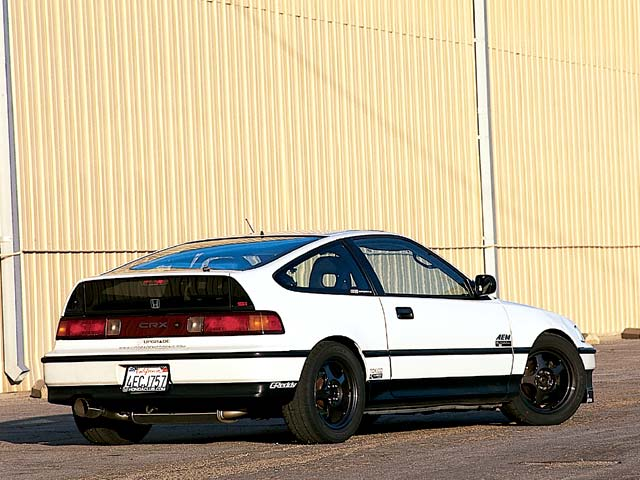 Honda Civic Crx #4