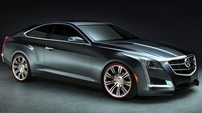 2014 Cadillac Cts Coupe #13
