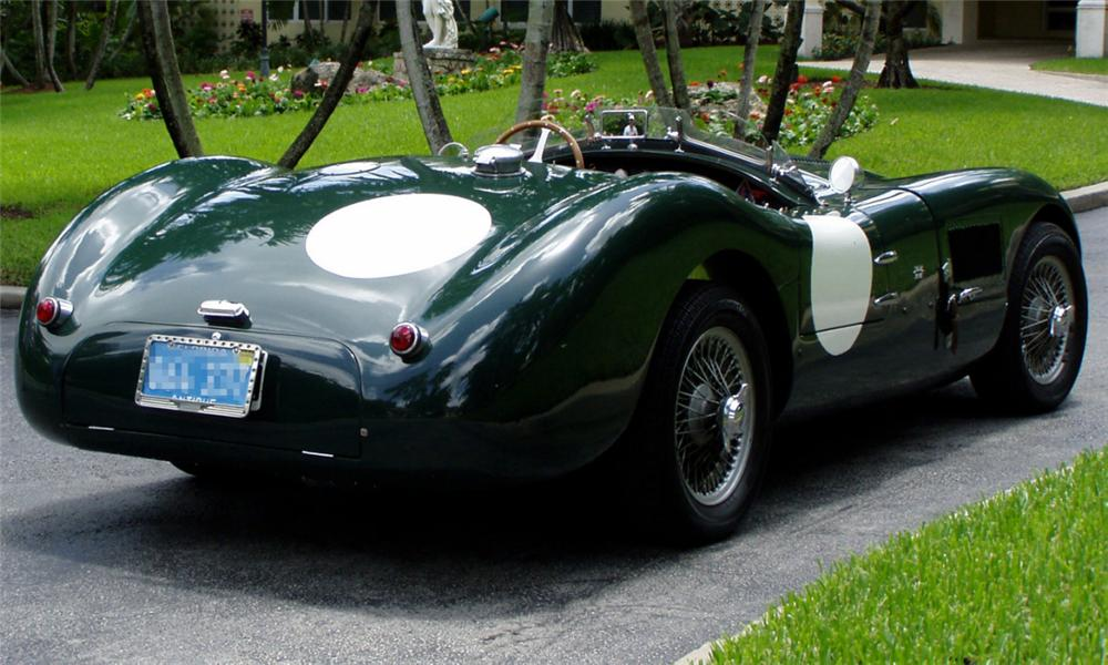 1953 Jaguar C-Type #15