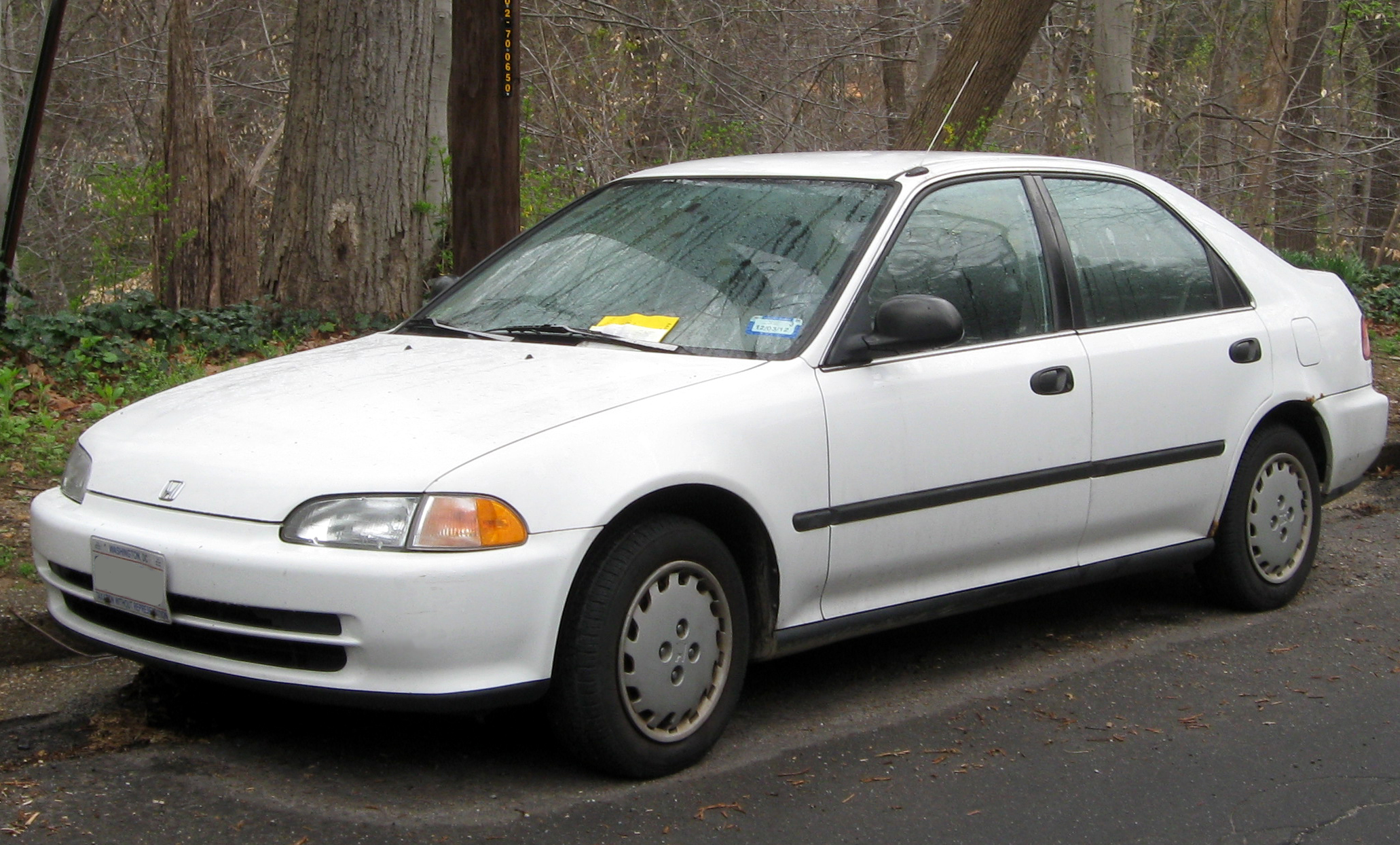 1993 Honda Civic #1
