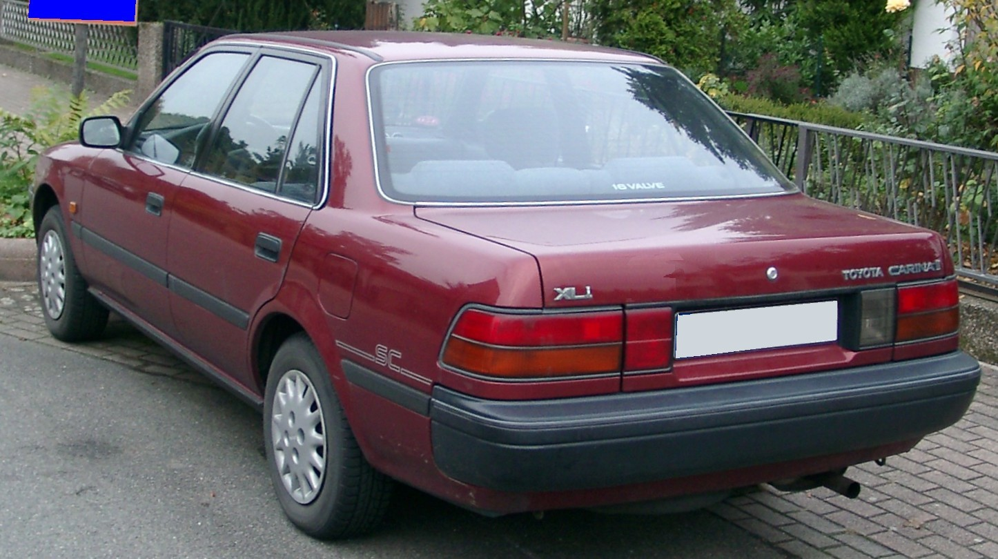 1989 Toyota Carina Photos  Informations  Articles
