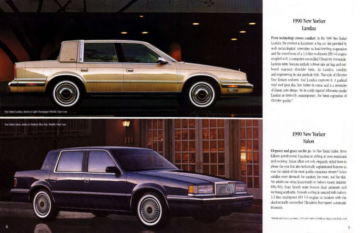 1990 Chrysler New Yorker #3