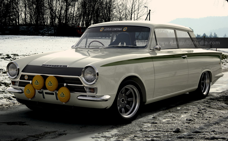 Ford Lotus Cortina #7