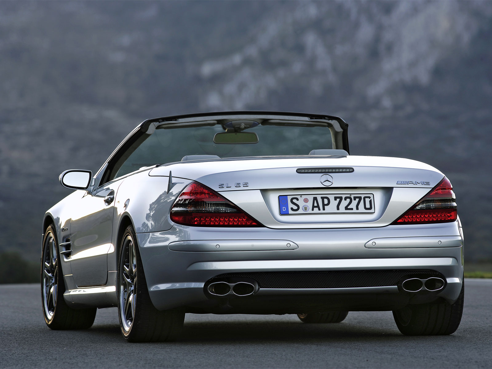 2007 Mercedes-Benz SL #4