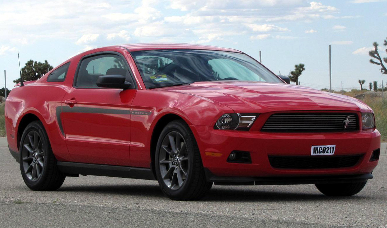 2012 Ford Mustang #4