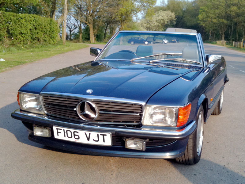 1989 Mercedes-Benz SL #11