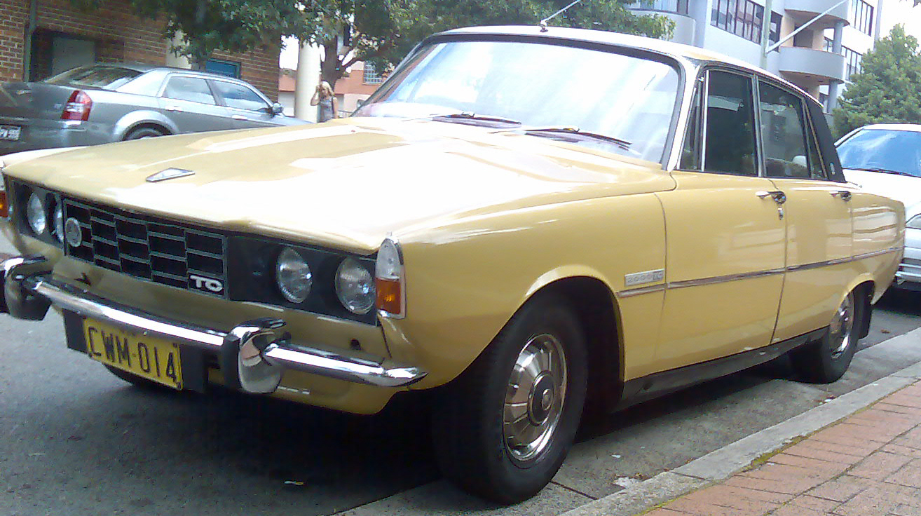 1972 Rover 2000 Photos Informations Articles