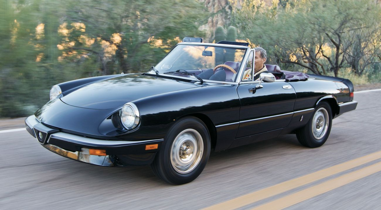 alfa romeo spider photos informations articles. Black Bedroom Furniture Sets. Home Design Ideas