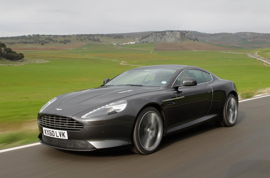 Aston Martin Virage #19