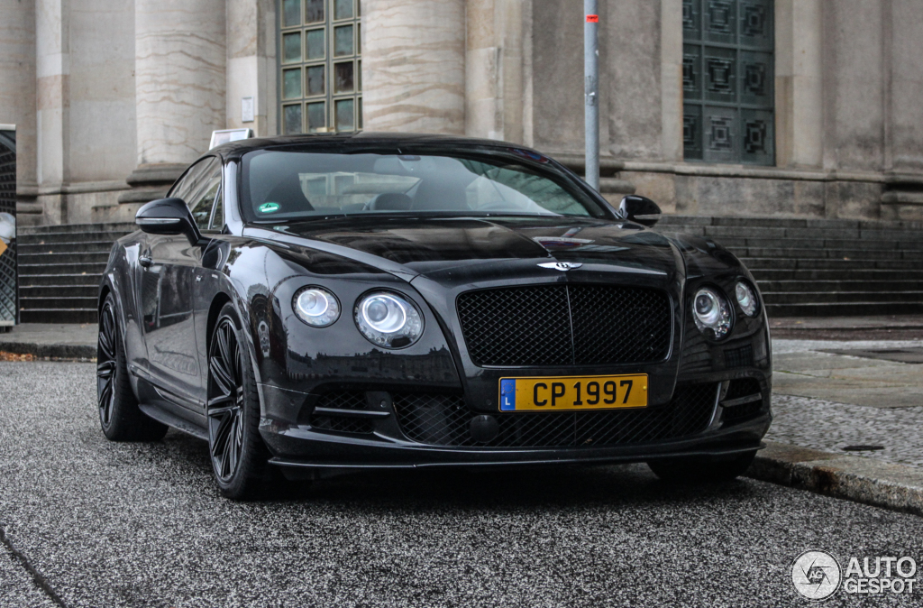 Bentley Continental Gt Speed Photos, Informations, Articles ...