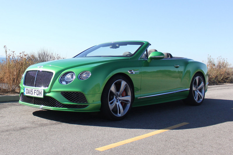Bentley Continental Gtc Speed #21