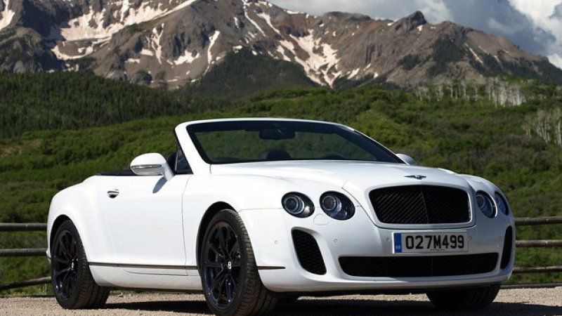 Bentley Continental Supersports Convertible #21